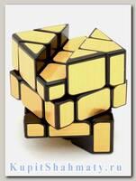 Кубик зеркальный «Fisher Mirror» золотой
