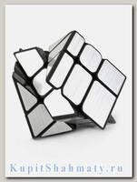 Кубик зеркальный «Wind Mirror» серебряный
