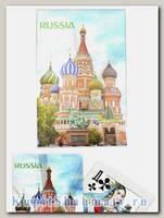 Карты игральные «Россия серебряная» сокращенная колода (36 карт) вскрытая упаковка