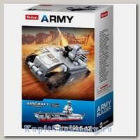 Конструктор «Армия. Авианосец 10 в 1» (55 деталей)