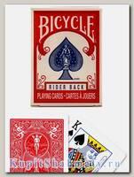 Карты «Rider Back mini» Bicycle красные вскрытая упаковка