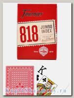 Карты покерные «818» Fournier увеличенный индекс вскрытая упаковка