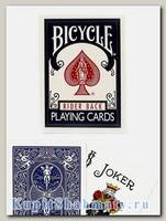 Карты «Bicycle Rider Back» синие