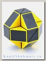 Головоломка «Змейка» 24 элемента чёрно-жёлтая