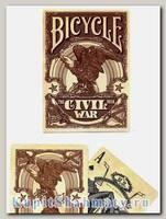 Карты «Civil War» коричневые вскрытая упаковка