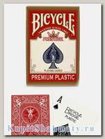 Карты игральные «Bicycle Prestige Premium» красные