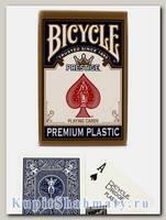 Карты игральные «Bicycle Prestige Premium» синие