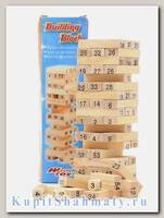 Дженга «Строительные блоки»  54 бруска