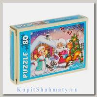 Пазл «Дед Мороз и Новый Год» 80 элементов