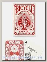 Карты «Bicycle Cyclist» красные вскрытая упаковка