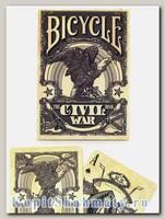 Карты «Civil War» серые вскрытая упаковка