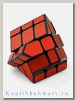 Кубик зеркальный «Ice brushed Yileng» красный