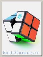 Кубик «Gan249 V2M» 2x2x2 чёрный на магнитах