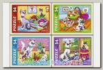 Пазл «Рисованные котята» 54 элемента