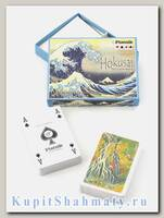 Набор коллекционных игральных карт «Хокусай» Piatnik вскрытая упаковка