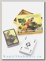 Набор коллекционных игральных карт «Каравадджо. Корзина фруктов» Piatnik вскрытая упаковка