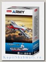 Конструктор «Армия. Военный самолет 10 в 1» (42 детали)