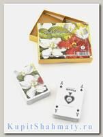 Набор коллекционных игральных карт «Floral Elegance» Piatnik вскрытая упаковка