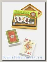 Набор коллекционных игральных карт «Tudor rose» Piatnik вскрытая упаковка