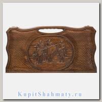 Нарды «Три богатыря» мастер Карен Халеян 61 см