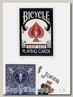 Карты «Bicycle Rider Back» синие вскрытая упаковка