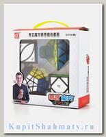 Подарочный набор кубиков Рубика «WCA shaped cube set QiYi»