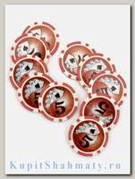 Фишки для покера «Royal Nu» номинал 5